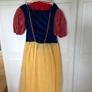 Disney Adult Snow White Costume Ankle Length Dress